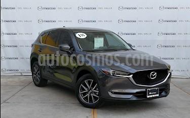 Mazda CX-5 2.5L S Grand Touring usado (2018) color Gris Titanio precio $450,000