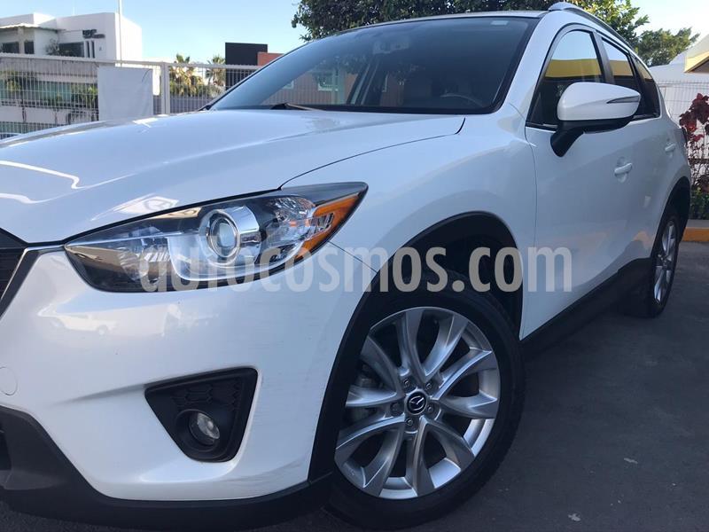 Mazda CX-5 2.5L S Grand Touring usado (2015) color Blanco Perla precio $250,000