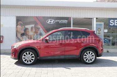 Mazda CX-5 2.0L i Grand Touring usado (2015) color Rojo precio $270,000
