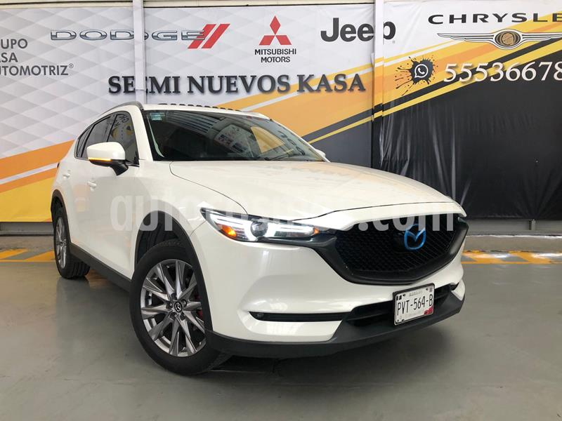 Mazda CX-5 2.5L S Grand Touring usado (2019) color Blanco precio $440,000