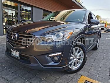 Mazda CX-5 2.0L i Sport usado (2016) color Gris Titanio precio $230,000