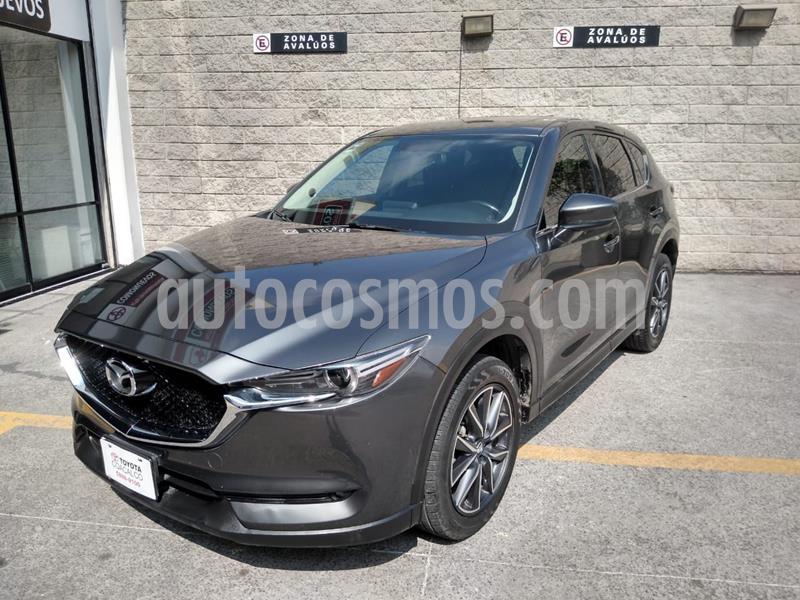Mazda CX-5 2.5L S Grand Touring usado (2018) color Gris precio $385,000