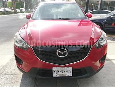 Mazda CX-5 2.0L i usado (2015) color Rojo precio $198,000