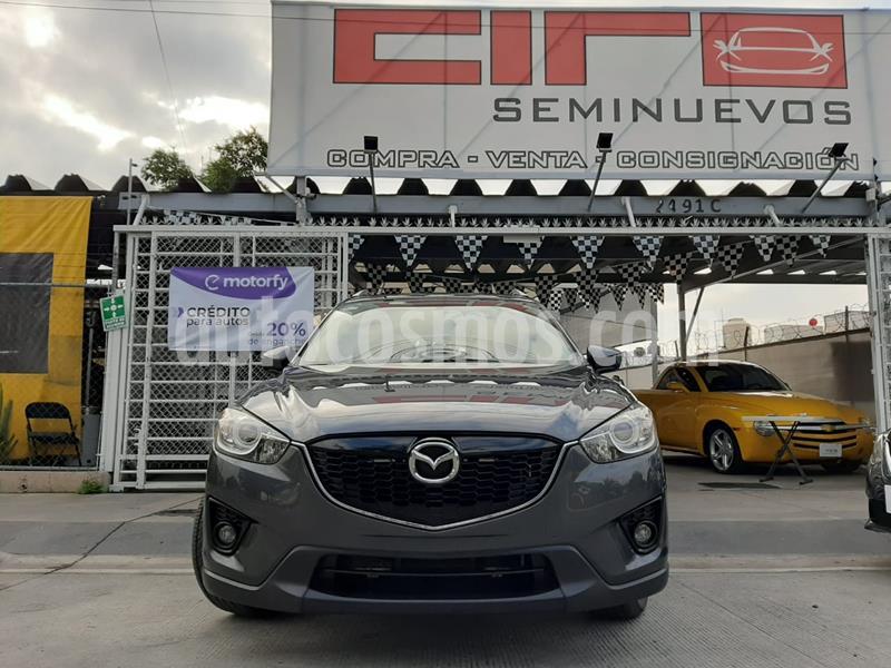 Mazda CX-5 2.0L i Grand Touring usado (2015) color Negro precio $265,000