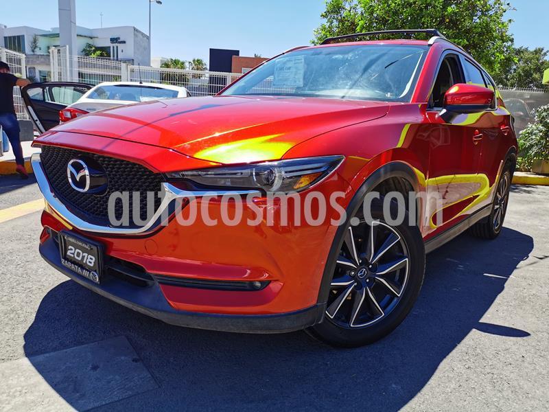 Mazda CX-5 2.5L S Grand Touring usado (2018) color Rojo precio $348,000