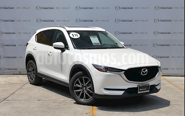 foto Mazda CX-5 2.5L S Grand Touring 4x2 usado (2018) color Blanco Perla precio $440,000