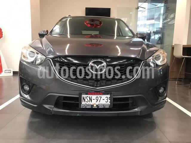 Mazda CX-5 5P I GRAND TOURING 2.0L TA PIEL QC F. NIEBLA RA-1 usado (2014) color Gris precio $239,500