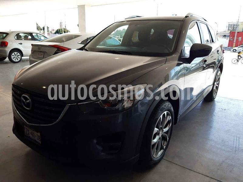 Mazda CX-5 2.5L S Grand Touring 4x4 usado (2016) color Gris precio $275,500