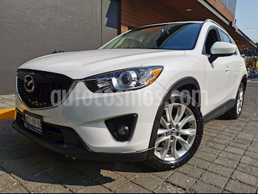 Mazda CX-5 2.0L i Grand Touring usado (2013) color Blanco Perla precio $205,000