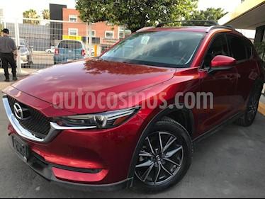 Mazda CX-5 2.5L S Grand Touring 4x2 usado (2018) color Rojo precio $385,000
