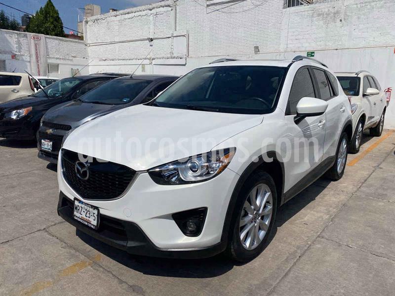 Mazda CX-5 2.0L i Grand Touring usado (2015) color Blanco precio $255,000