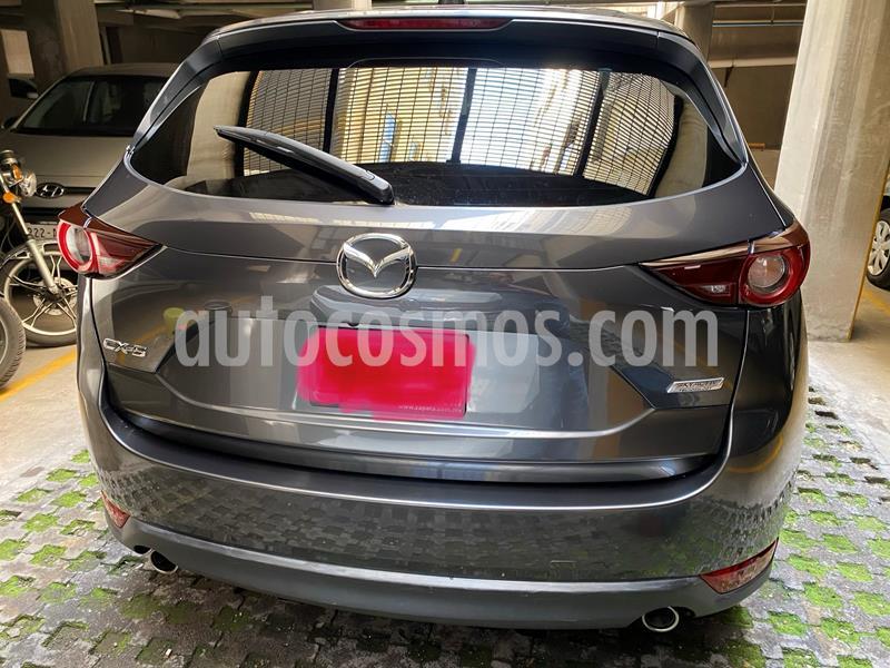 Mazda CX-5 2.0L i Sport usado (2018) color Gris Titanio precio $315,000