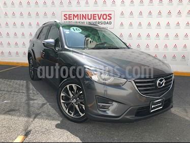 Mazda CX-5 i Grand Touring  usado (2016) color Gris Metropolitano precio $260,000