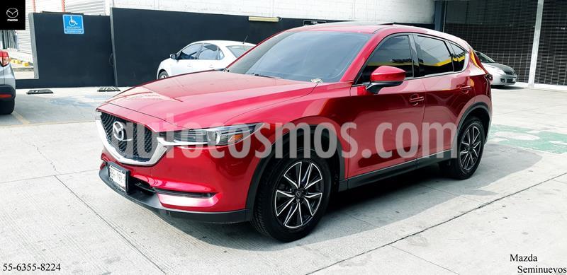 Mazda CX-5 2.5L S Grand Touring 4x2 usado (2018) color Rojo precio $414,900