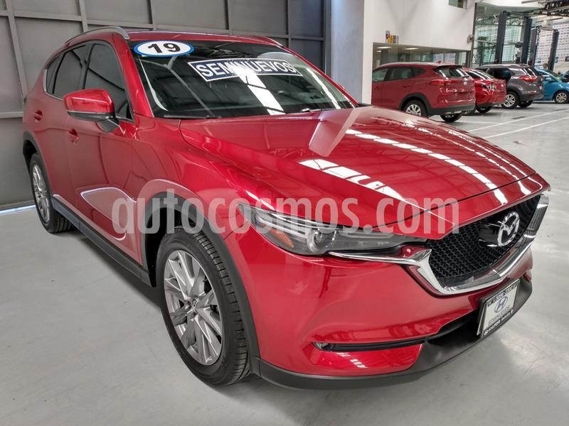 Mazda CX-5 2.5L T Signature usado (2019) color Rojo precio $484,900