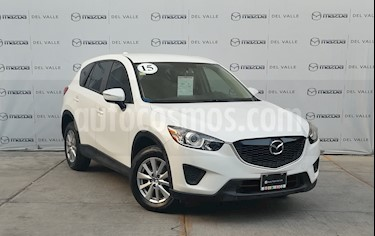 Mazda CX-5 2.0L i Sport usado (2015) color Blanco precio $250,000