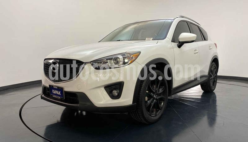 Mazda CX-5 2.5L S Grand Touring 4x2 usado (2015) color Blanco precio $267,999