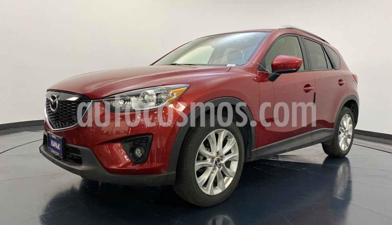 Mazda CX-5 2.0L i Grand Touring usado (2015) color Rojo precio $249,999