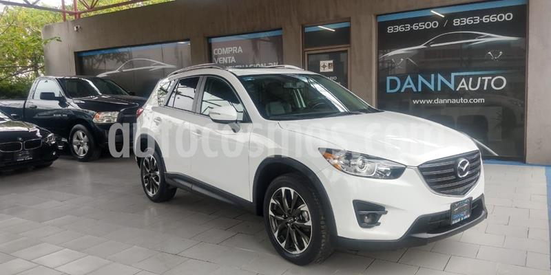 Mazda CX-5 2.0L i Grand Touring usado (2016) color Blanco precio $279,000