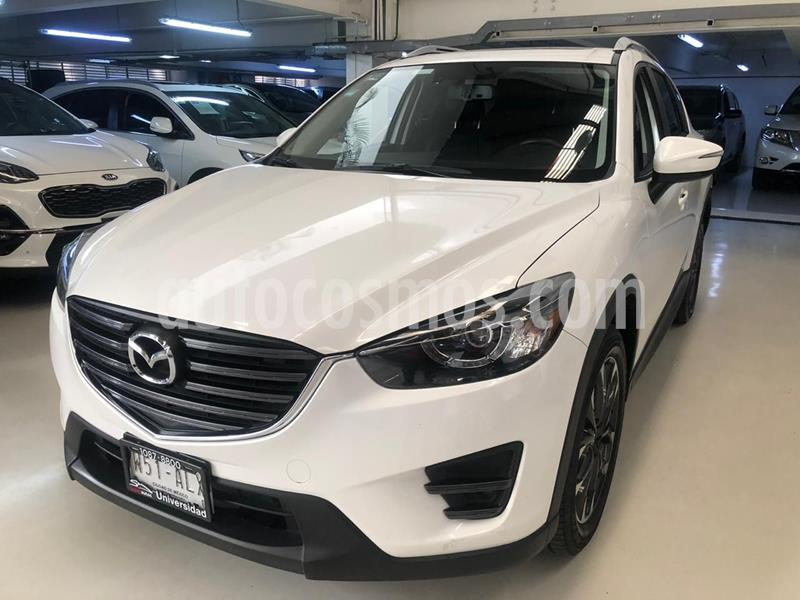 Mazda CX-5 2.5L S Grand Touring 4x2 usado (2017) color Blanco precio $319,100