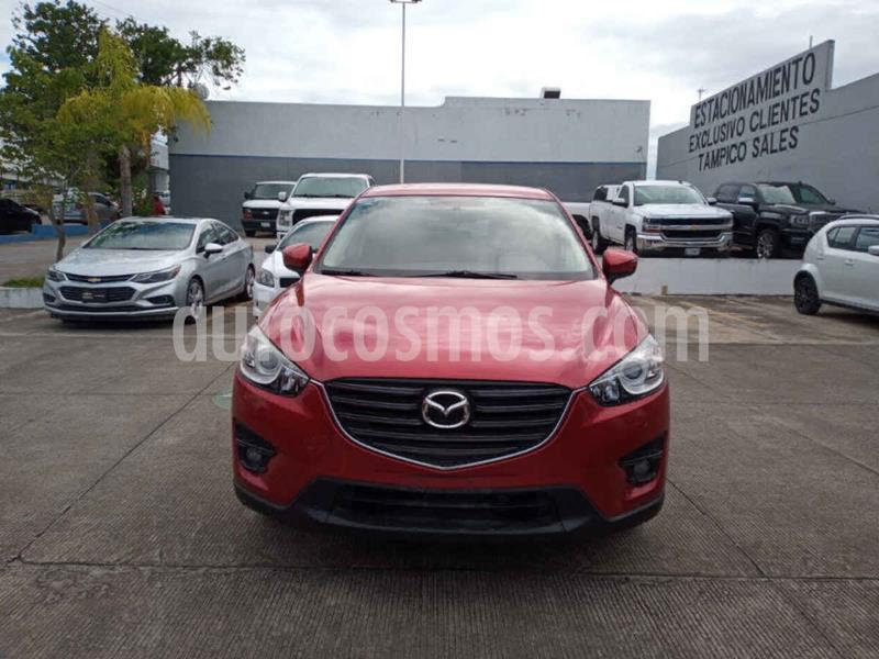 Mazda CX-5 2.0L i Sport usado (2016) color Rojo precio $300,000