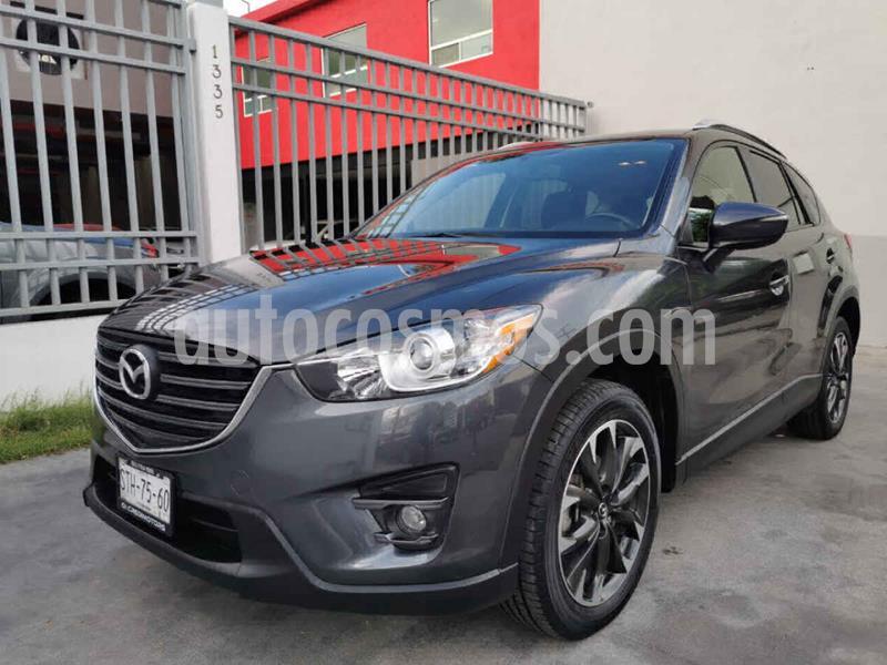 Mazda CX-5 2.0L i Grand Touring usado (2016) color Gris precio $269,000