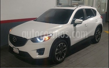 Mazda CX-5 2.0L i Grand Touring usado (2016) color Blanco precio $299,000
