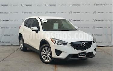 Mazda CX-5 2.0L i usado (2015) color Blanco precio $235,000