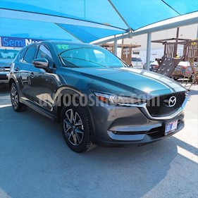 Mazda CX-5 S GRAND TOURING 2WD usado (2018) color Gris Titanio precio $376,000