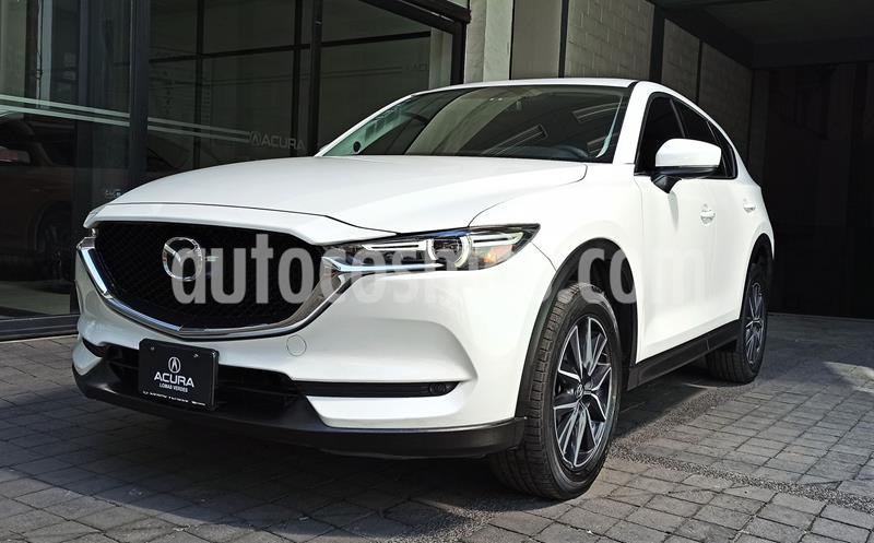Mazda CX-5 2.5L S Grand Touring usado (2018) color Blanco precio $374,000