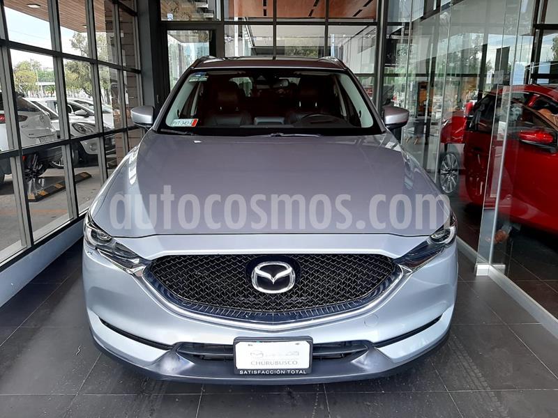 Mazda CX-5 2.5L T Signature usado (2019) color Plata precio $449,000