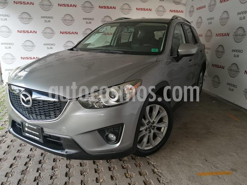 Mazda CX-5 2.0L i Grand Touring usado (2015) color Aluminio precio $245,000