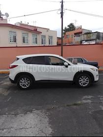 Mazda CX-5 2.0L i Sport usado (2015) color Blanco Perla precio $210,000