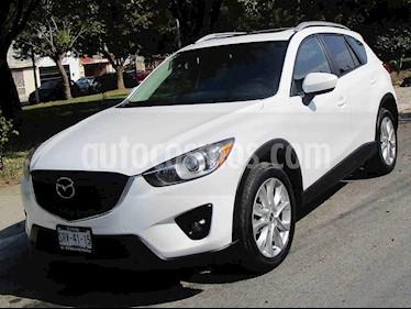foto Mazda CX-5 2.5L S Grand Touring 4x4 usado (2014) color Blanco precio $242,000