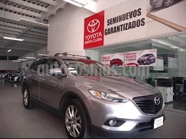 Foto Mazda CX-9 5p Grand Touring V6/3.7 Aut usado (2014) color Gris precio $269,000