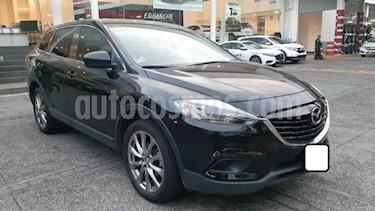 Mazda CX-9 5P SPORT TA  CD F. HALOGENO RA-20 usado (2015) color Negro precio $285,000
