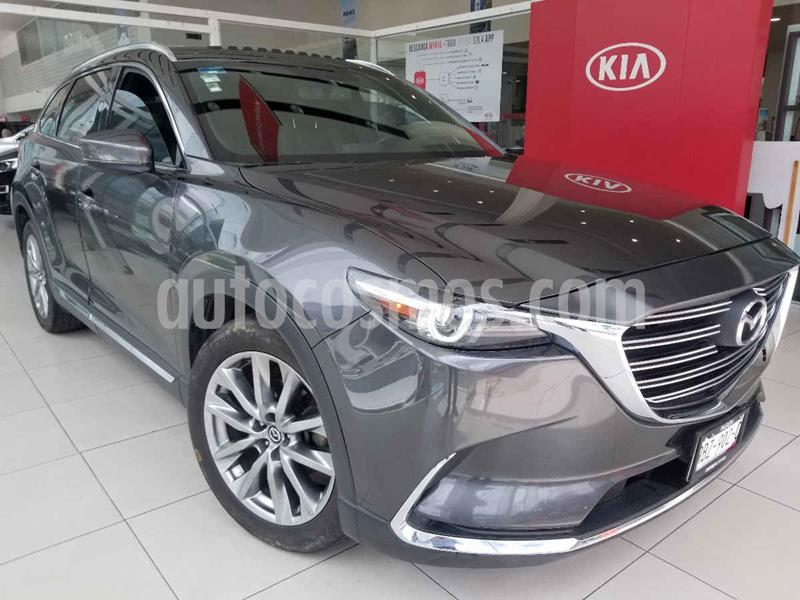Mazda CX-9 Grand Touring AWD usado (2017) color Gris precio $399,000