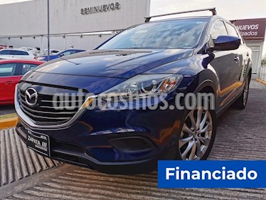Mazda CX-9 Sport usado (2014) color Azul Tormenta precio $55,000