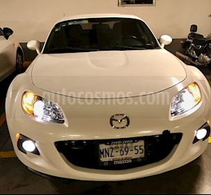 Mazda MX-5 Grand Touring usado (2013) color Blanco Cristal precio $195,000