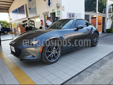 Mazda MX-5 Grand Touring usado (2019) color Gris Meteoro precio $419,900