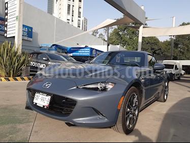 Mazda MX-5 RF Aut usado (2020) color Gris Titanio precio $448,000