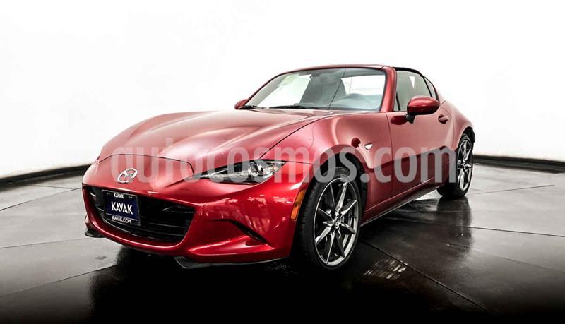 Mazda MX-5 RF Aut usado (2017) color Rojo precio $362,999