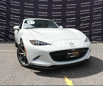 Mazda MX-5 RF Aut usado (2017) color Plata precio $380,000