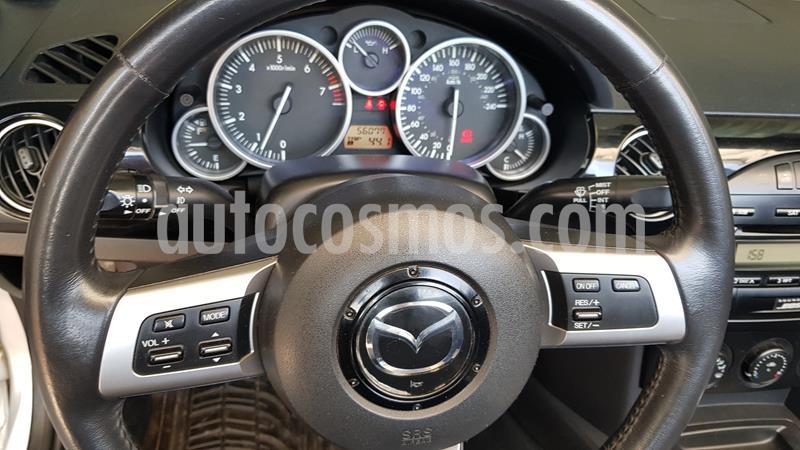 Mazda MX-5 Grand Touring usado (2008) color Gris Plata  precio $150,000