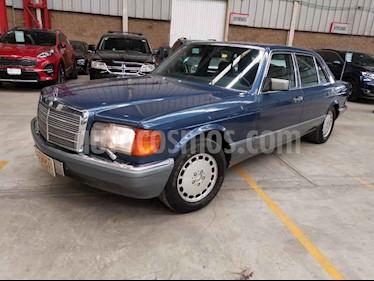 Mercedes Benz 500 Sel usado (1987) color Azul precio $300,000