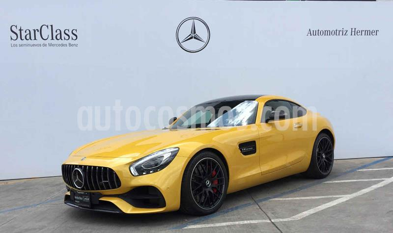 Mercedes Benz AMG GT S usado (2019) color Amarillo precio $3,099,900