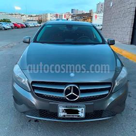 Mercedes Benz Clase A 180 CGI Aut usado (2014) color Gris Montana precio $197,000