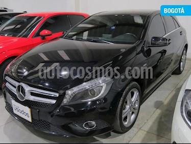 Foto venta Carro usado Mercedes Benz Clase A 200 Aut (2016) color Negro Cosmos precio $71.900.000