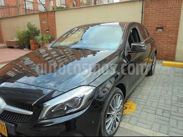 Foto venta Carro usado Mercedes Benz Clase A 200 Aut (2016) color Negro precio $82.000.000