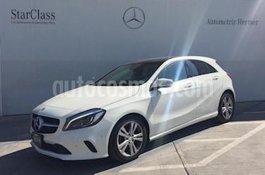 Foto venta Auto usado Mercedes Benz Clase A 200 CGI Sport S/Techo Aut (2017) color Blanco precio $429,900